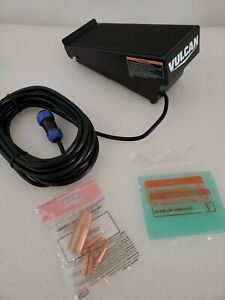 Vulcan Tig Welder Foot Pedal Remote Control 63895 With Lincoln S11306 1 Diffuser