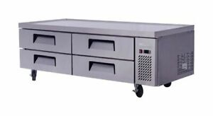 Migali C cb72 72 Refrigerated Chef Base 4 Drawers Free Shipping