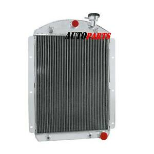 4 Row Radiator Fits Chevy Truck V8 Small Block Conversion 1941 42 43 44 45 1946