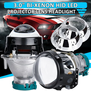 3 0 Hid Bi Xenon For Hella Projector Lens D1s D2s D3s D4s W Shrouds B New
