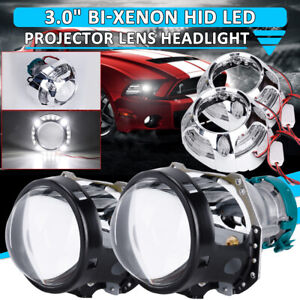 3 0 Bi xenon For Hella Projector Lens D1s D2s D3s D4s Bulb white Halo Shrouds I