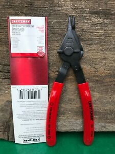 Craftsman Qtr Turn Retaining Ring Pliers 47384 Made In Usa