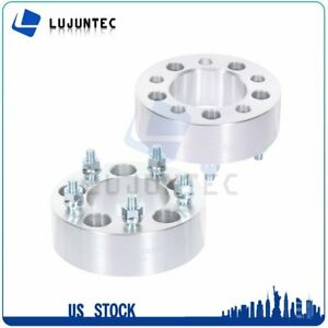 5x4 75 To 5x4 75 2 2 Wheel Spacers For Cadillac Cts Corvette Camaro Gmc Jimmy