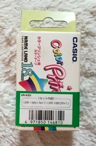 New Casio 18mm Name Land Tape Cartridges