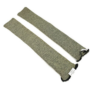 2 Pcs wells Lamont 18 Cut resistant Safety Sleeve Level A4 Made With Kevlar