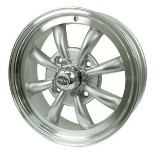 Gt 8 Wheel Silver With Polished Lip 5 5 Wide 4 On 130mm Dunebuggy Vw