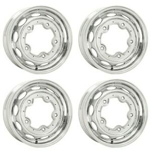 Vintage 190 Wheels 15 X 4 5 5 On 205 Silver Set Of 4 Dunebuggy Vw