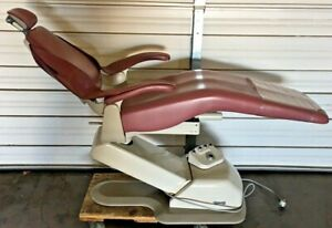 Dental ez Silhouette Model Sl 1 Dental Patient Exam Chair W Foot pedal Pink