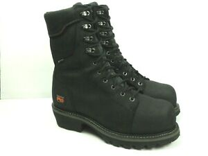 Timberland Pro Men s Rip Saw Black Composite Safety Toe Boots Size 10 5