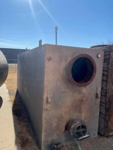 Carbon Steel Tank Gallons 2500 Gallon Rectangular 6 Available
