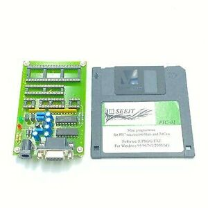 Pic 01 Microcontroller Programmer For Pic And 24cxx