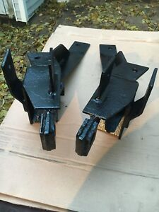 Fisher Minute Mount Plow Push Plates Gm Nice Shape