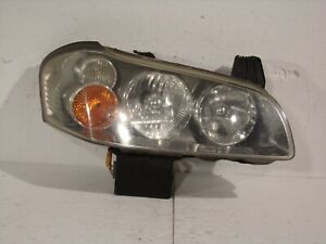02 03 2003 Nissan Maxima Hid Xenon Passenger Right Headlight Lamp Lens 10501