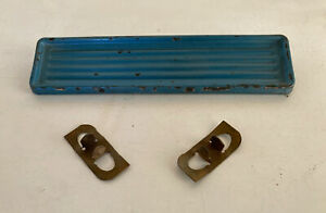 60 61 62 63 64 65 66 Chevy Truck Radio Delete Plate With Original Clips Gmc 1966