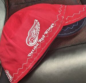 Wendys Welding Hat Made With Detroit Redwing Application New