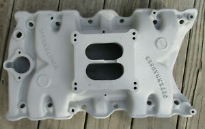 Offenhauser 5822 Oldsmobile Olds 307 350 403 Intake Manifold Cutlass 442 Lowdeck