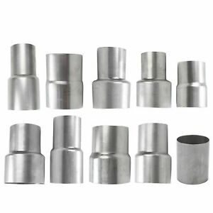 Universal Exhaust Assortment Pipe To Pipe Coupling Connector Adapter Reducer