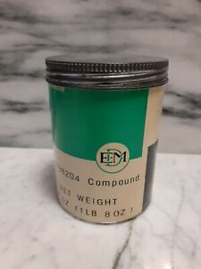 New Vintage Electro motive Synthetic Rubber Putty Compound Gm Approved