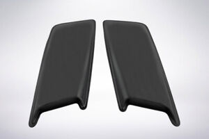 Smooth 2 Piece Large Hood Scoops For 1999 2007 Gmc Sierra 2500