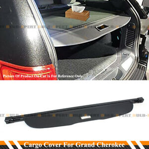 For 2011 2020 Grand Cherokee Retractable Trunk Cargo Cover Luggage Shade Shield
