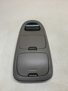 1997 2003 Ford F 150 Expedition Overhead Console Display Oem Light Gray Grey
