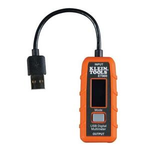 Klein Tools Multi Meter Usb Digital Lcd Type A Data Log Record Handheld Voltage