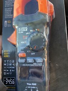 Klein Tools Cl390 400a Ac dc Auto ranging Digital Clamp Meter Brand New