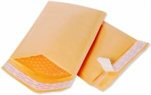 Small Padded Envelopes 3x5 Pack Of 20 Bubble Yellow Kraft Bag Mailers