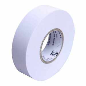1 Roll White Electrical Insulating Tape Vinyl 3 4 Inch 20 Yards Ul Listed