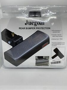 Juegoal Rear Bumper Protection Step 2 Receiver Hitch Step Truck Suv Black New