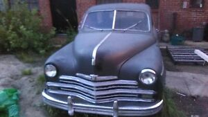 1949 Plymouth Special Deluxe Coupe Parts Or Restore Project