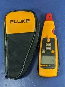 Fluke 771 Milliamp Process Clamp Meter Excellent Screen Protector Case