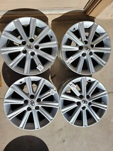 2012 2014 Toyota Camry Oem Factory 17 Wheels Rims Set Of4 Free Shipping Read