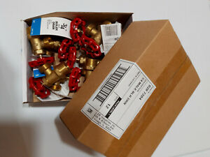 Box Of 12 3 4 Brass Angle Style Boiler Drains Ldr Industries Chicago