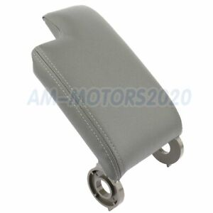 Center Console Lid Armrest For Bmw E46 3 Series 1999 04 Arm Rest Cover Gray Hot