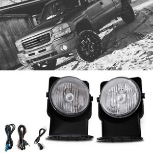 Bumper Mounted Fog Light Wiring Switch Bulbs For 2007 Gmc Sierra 1500 Hd Classic