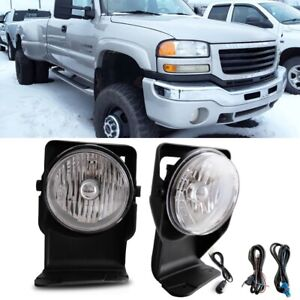 Bumper Fog Lights Wiring Switch Bulb For 2007 Gmc Sierra 3500 Classic Super Duty