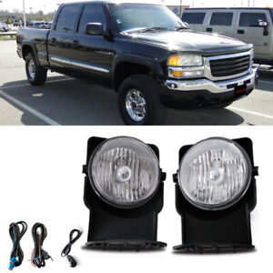 Bumper Mounted Fog Light Wiring Switch Bulb For 2003 Gmc Sierra 1500 Hd Crew Cab