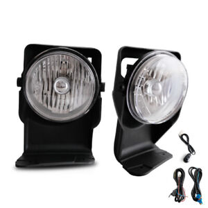 For 2005 Gmc Sierra 1500 Base Sle Slt Wt Bumper Fog Lamps Kit Direct Replacment