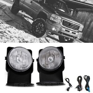 For 2007 Gmc Sierra 1500 Classic Sl Sle Slt Wt Bumper Fog Lamp Direct Replacment