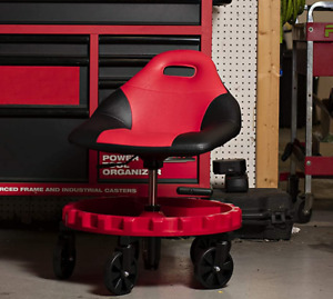 Mobile Rolling Gear Seat Mechanic Creeper Tray Five All terrain 5 Casters Shop
