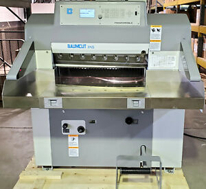 Nice 2011 Baumcut 31 5 polar 80 Paper Cutter With Air Table Inventory 3633