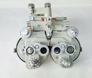 Minus Manual Phoropter Vision Tester Optometry Refractor Creamy White Color
