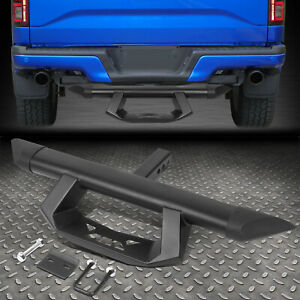 J2 For 2 Receiver Rear Bumper 39 X 3 5 Black Trailer Tow Hitch Step Bar Guard