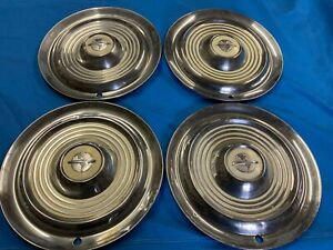 1953 1954 1955 1956 Oldsmobile 88 Set Of Four Hubcaps