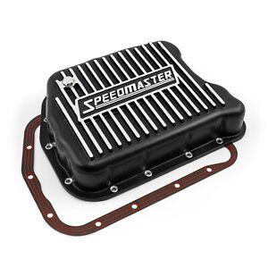 Chrysler Torqueflite 727 Speedmaster Cast Aluminum Transmission Oil Pan Black