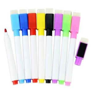 1pcs Magnetic Whiteboard Pen markers Erasable Drawing Recording Magnet Hot
