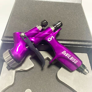 Devilbiss Blue Cv1 Hvlp 1 3mm Nozzle Car Paint Tool Pistol Spray Gun