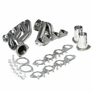 Stainless Exhaust Manifold Shorty Race Header Fits Big Block 396 402 427 454 502