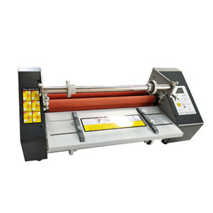 Desktop Paper A3 Hot Cold Laminating Machine Roll Photo Laminator High Quality